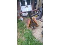 PETROL LAWN MOWER AND PALLET TRUCK FOR SALE