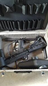 Selling tippmann a5 with new barrel and retractable buttstock