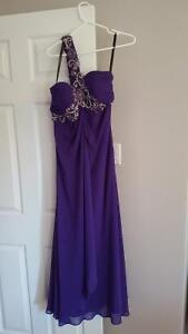 Beautiful purple evening gown! Worn only once!