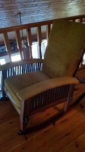vintage rocking chair Kawartha Lakes Peterborough Area image 1