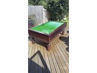 **FREE** 7FT SLATE BED POOL TABLE