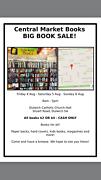 Central Market Books BIG BOOK SALE! Dulwich Burnside Area Preview