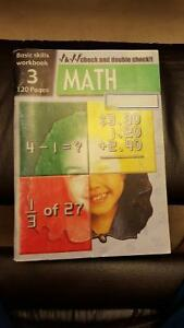 Math Basic Skills Workbook - Grade 3