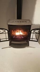 Freestanding propane fireplace SALE!