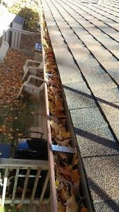 KAWARTHA CREATIONS; Eaves trough cleaning & Fall Clean-up Kawartha Lakes Peterborough Area image 2