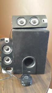 Cyber Acoustics speakers with subwoofer