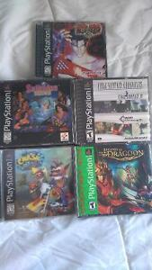 Selling a bunch of ps1/Playstation 1 games
