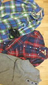 Hollister,  AE shirts, sweater or belt $20 or less