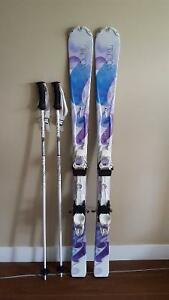 Women's Volkl Skis and Poles