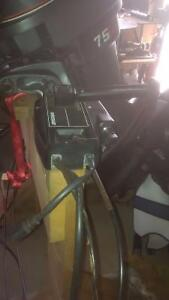75 Hp Mariner Outboard with Quick Silver controls, key & cables Kingston Kingston Area image 5