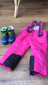 Size 2 size 4 snow ski kids clothes Doncaster East Manningham Area Preview