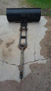 lawn mower blade and attachment