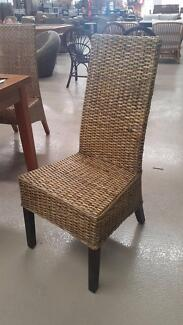 OTTO DINING CHAIR_PEEL WEAVING_BROWN WASH (CLEARANCE)
