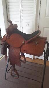"16"" Saddle King Western Saddle - Excellent Condition"