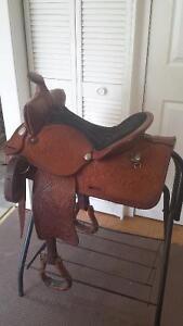 "16"" Saddle King Western Saddle - Excellent Condition Windsor Region Ontario image 1"