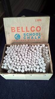 Old School Box Bellco Chalk