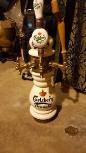 Carlsberg ceramic 3 head beer tower