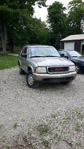 2000 GMC Jimmy SUV, $750