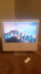 """17"""" White iMac (Upgraded, Good Condition, Loaded w/ Apps)"""
