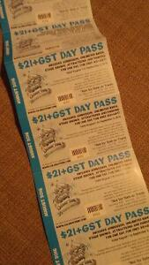 Calaway park reduced price passes