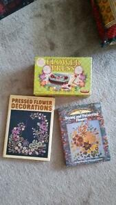 FLOWER PRESS AND BOOKS