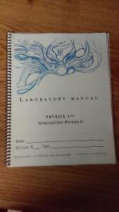 Uvic Phys 111 Lab manual