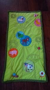 Baby blanket with animal sounds