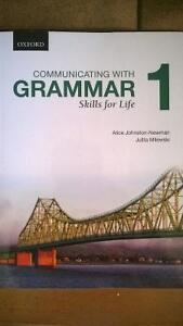 Communicating with grammar . Skills for life . 1