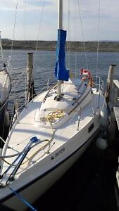 Fully Fitted Tanzer 26' Sailboat for Sale St. John's Newfoundland image 3