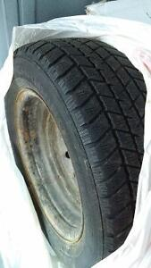 4 Used Honda Civic Winter Tires (185/65) with Rims for $120