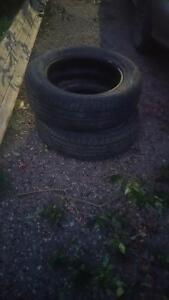 pair of 225/60/17 tires