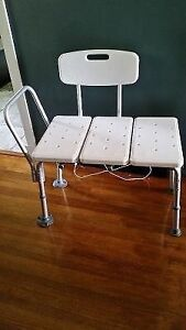 Bath Chair and leg extensions