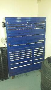 Toolbox with full range of tools