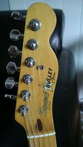VINTAGE 1984 FENDER SQUIER JAPAN BULLET NECK and TUNERS ONLY