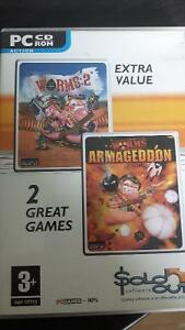Worms Armageddon and Worms 2