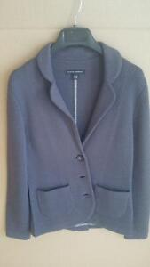 Banana Republic Purple Knit Jacket (Size XS)