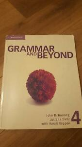 Grammar and beyond 4 - English book