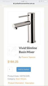 slimline basin tap mixer, 2 availble Caboolture South Caboolture Area Preview