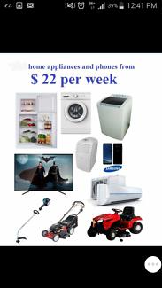 Samsung s7 phones TV fridge washing machine dryer
