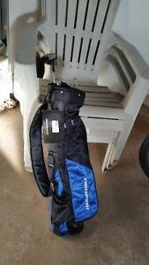 Junior clubs and new bag
