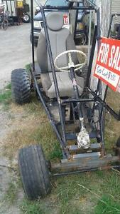 AWESOME GO-CART has spicer rear diff, rack n pinion steering +