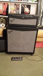 FS: Fender Mustang V head and matching 4x12 stereo cab.