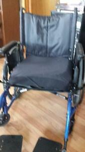 Invacare Extra Wide Wheelchair with ROHO Air Cushion