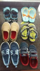 Lot of Toddler Boy Shoes Sizes 9-10