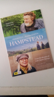 MAKE AN OFFER - Pass / Tickets for 2 to Movie 'Hampstead' Valid f