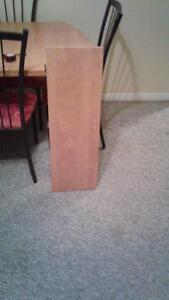 Dining table with leaf and 4 chairs Stratford Kitchener Area image 4