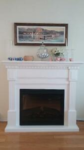 Almost New Electrical Fireplace for Sale
