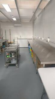 Commercial Production Kitchen with oven and induction top