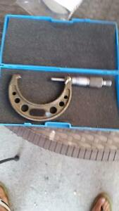 "Used 1-2"" and new 3-4 "" micrometer Cambridge Kitchener Area image 2"