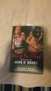 Guns and Roses- Watch you Bleed  Hardcover